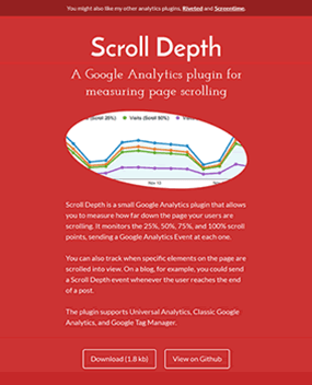 Scroll Depth